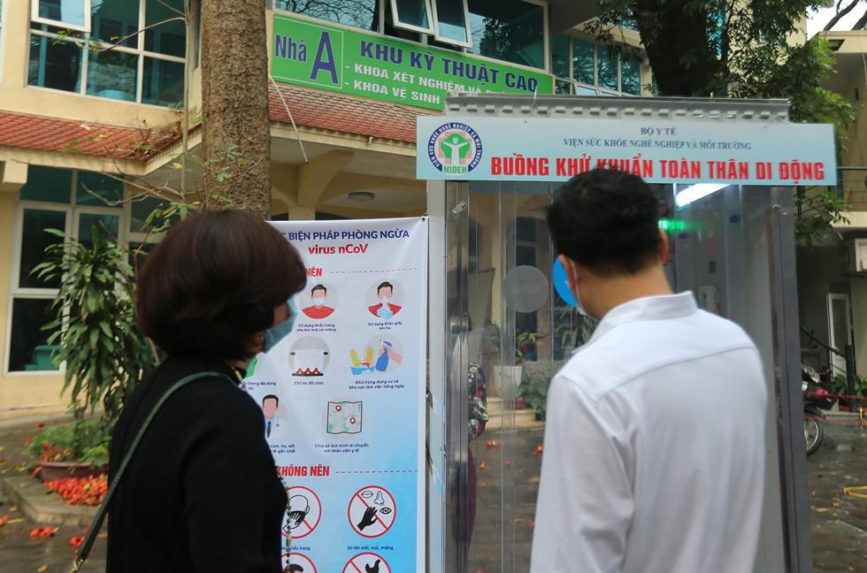 Buồng khử khuẩn di động đầu tiên tại Việt Nam: Chỉ 15-20 giây 'làm ...